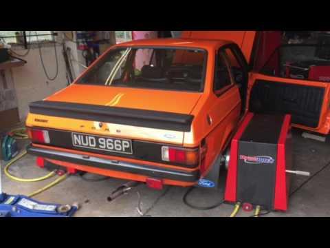 Ford escort mk2 180 bhp 175lb torque @6000 rpm