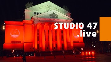 "STUDIO 47 .live | DUISBURG BETEILIGT SICH AN AKTION ""NIGHT OF LIGHT 2020"""