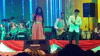 Risa Moodley - Live at Durban City Hall June 2016 Singing Jalte diye with Remo Gosh