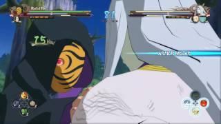Naruto ultimate ninja storm 4 team masked man vs team kaguya 1