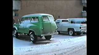 1965 Green Dodge Town Wagon Power Wagon in Tahoe