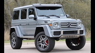 Reviewing The $250,000 Mercedes G550 4x4 Squared