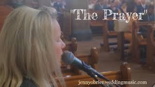 The Prayer - Jenny O'Brien Wedding Music (Celine Dion) YouTube Thumbnail