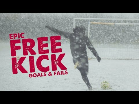 Extreme Free Kick Training Goals & Fails - Day 40 of 90