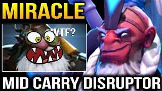 Miracle the Meta Creator: Disruptor MID CARRY Dota 2