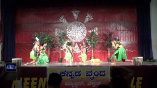 Houston Kannada Vrinda  20140426 Ugadhi Kids Dance