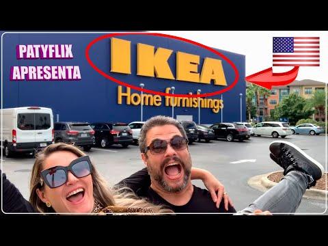 IKEA EUA   COMPRAS Na MAIOR LOJA De MÓVEIS E DECORAÇÃO De ORLANDO Nos ESTADOS UNIDOS   PATYFLIX