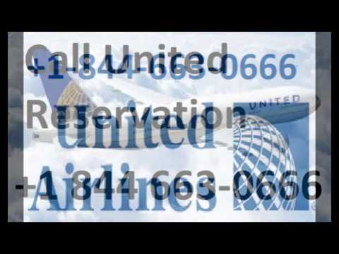 What Is United Airlines Reservations Number 18446630666?