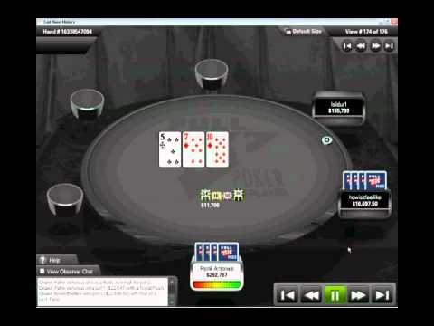 Royal Flush and Quads Patrik Antonius vs Rafi Amit (ran twice)