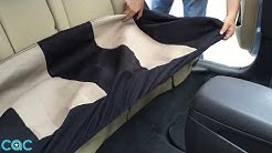 Seat Cover OS-309 Installation on Elantra 2 - Bench Cushion