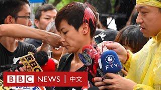 「全球反極權大遊行」何韻詩遭潑漆 多國有活動聲援香港- BBC News 中文
