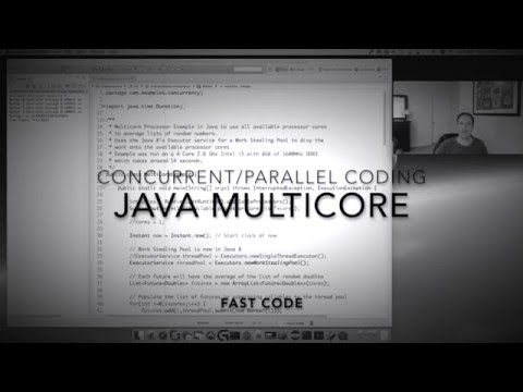 Java Multicore Concurrent Code