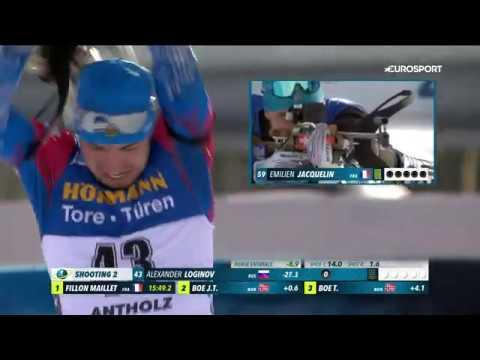 Золотая гонка Александра Логинова в спринте чемпионата мира