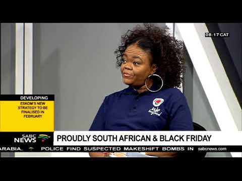 Proudly South Africa & Black Friday