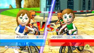 Amaterixen Holiday Special 2013 - Wii Sports Resort: Cycling (Part 3/4)