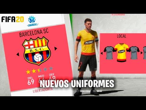 BARCELONA SC LLEGA FIFA 20 | NUEVA ACTUALIZACIÓN