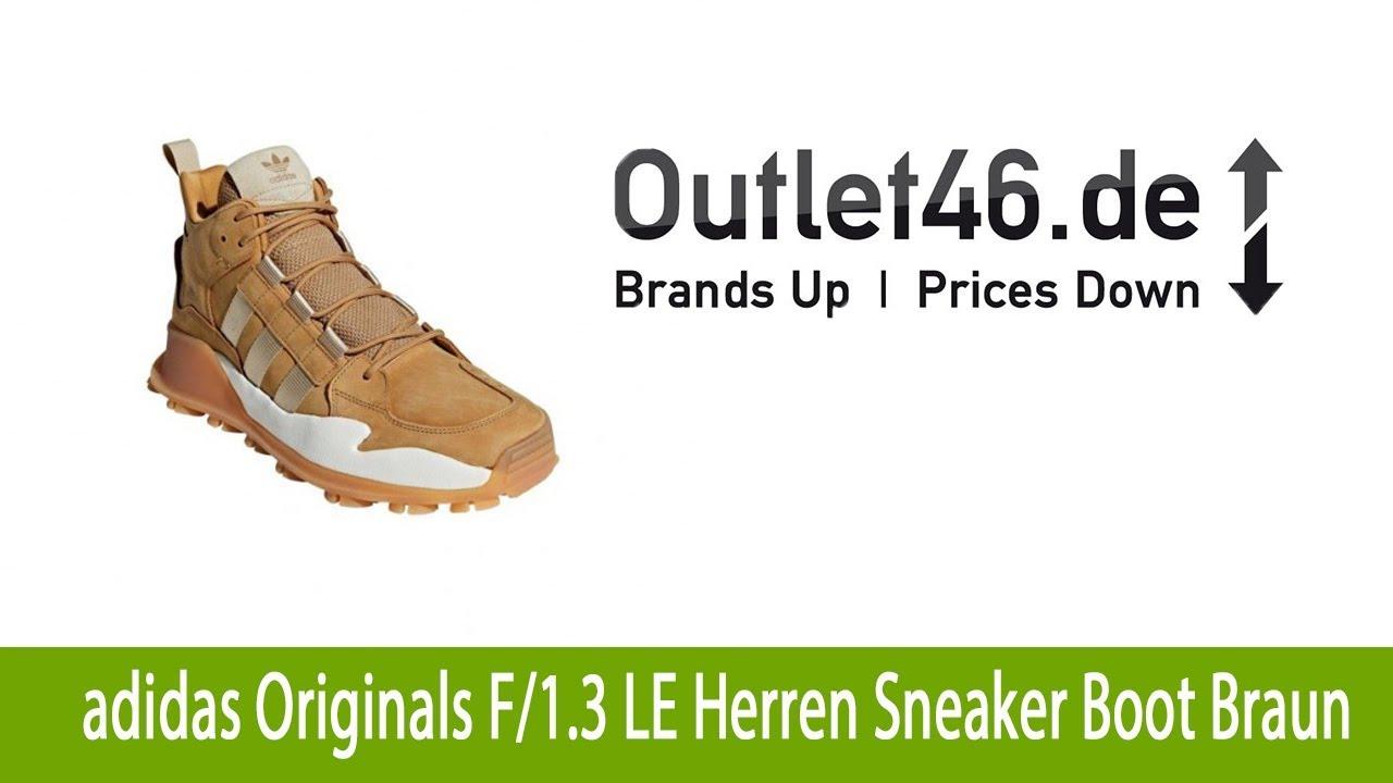 Robuster adidas Originals F1 3 LE Herren Sneaker Boot Braun günstig erhältlich bei |
