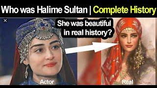 Who was Halime Sultan | Real History of Halime Sultan  | A Seljuk Princess Married to Ertugrul