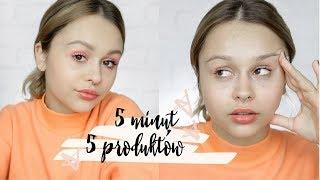 5 produktów w 5 minut! Makijaż na co dzień