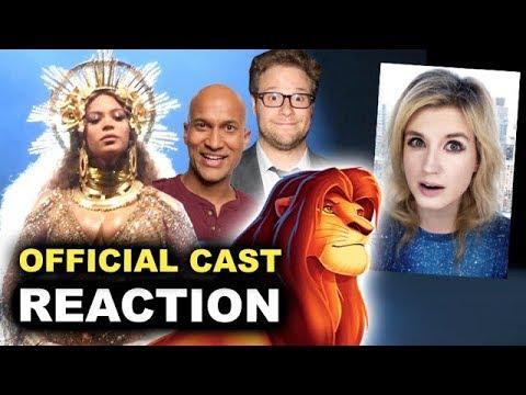The Lion King 2019 Cast REACTION & BREAKDOWN