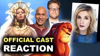 Baixar The Lion King 2019 Cast REACTION & BREAKDOWN