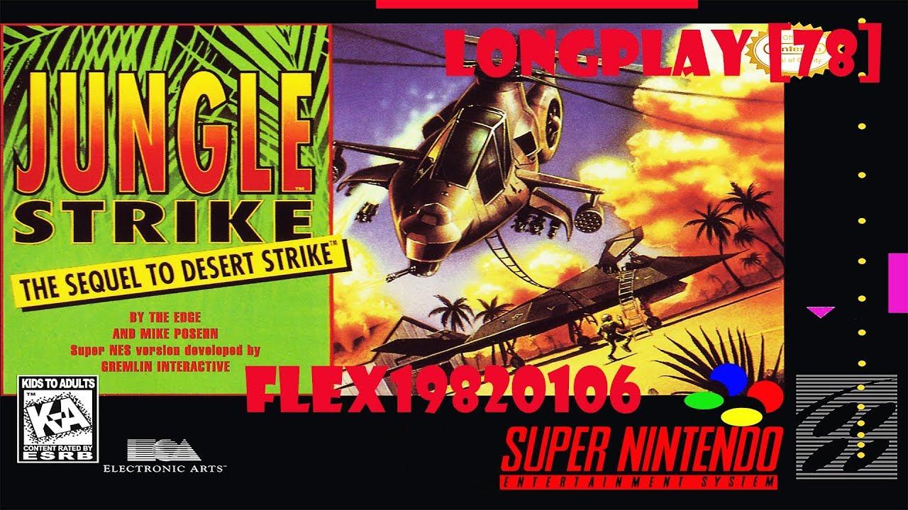 Snes Jungle Strike En Longplay 78 Youtube