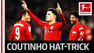 Coutinho's First Bundesliga Hat-Trick - 3 Goals & 2 Assists in One Match