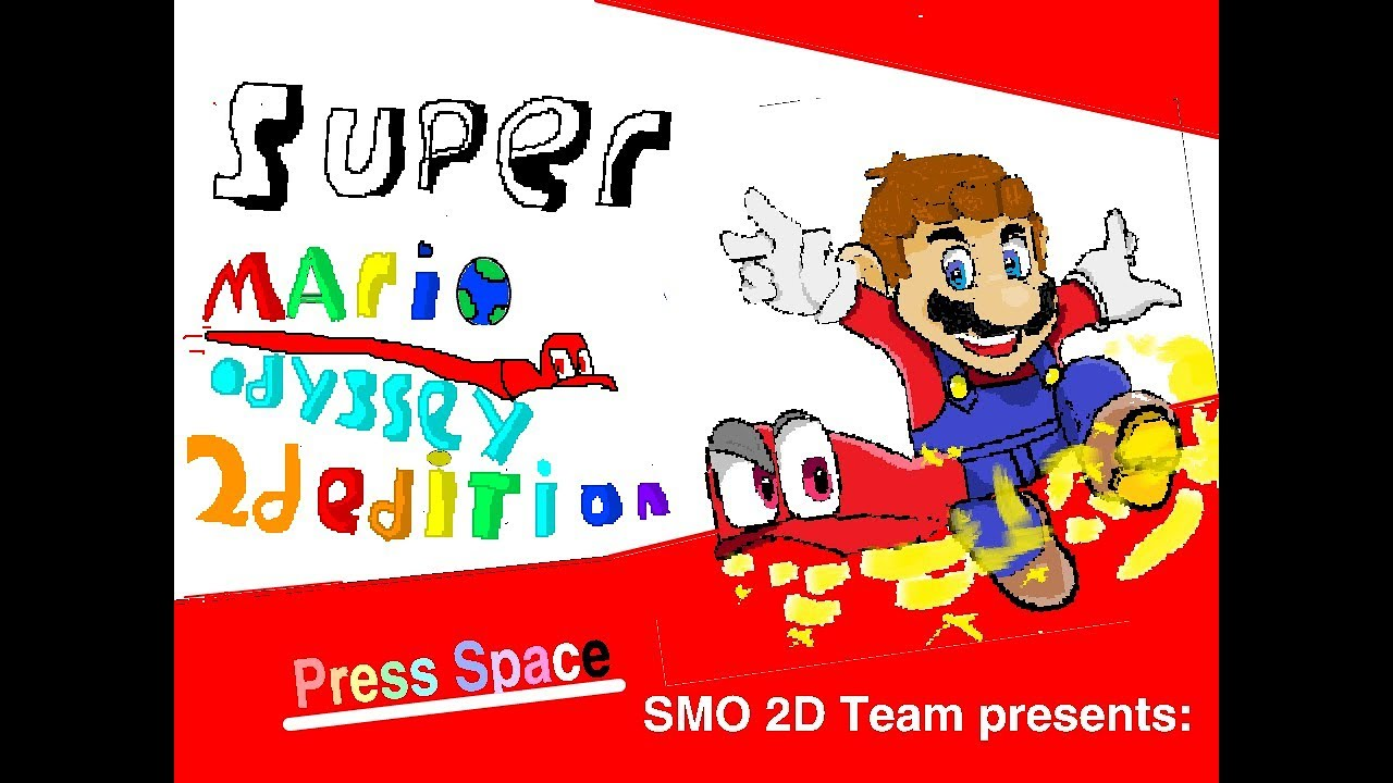 Breaking Super Mario Odyssey 2d Edition