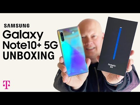 NEW Samsung Note 10+ 5G Phone Unboxing | T-Mobile