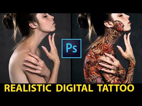How To Add Realistic Tattoos | Photoshop Tutorial
