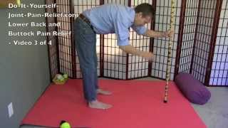Lower Back and Buttock Pain Relief - Video 3 of 4