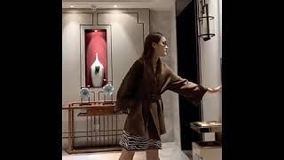 캐시미어 여성 반코트 허리띠 겨울 자켓 모직코트