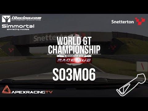 World GT Championship - S03M06 -  Snetterton