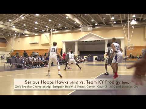RPS Championship (9th Grade) -Serious Hoops Hawks vs. Team KY Prodigy - 5/21/17 @ 3:10 pm