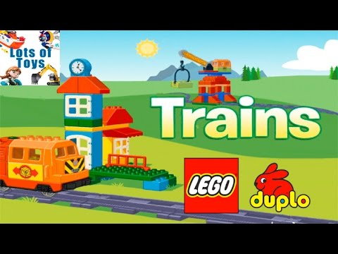 Build Your Train and Drive Your Passengers With Lego Duplo Trains GAME REVIEW