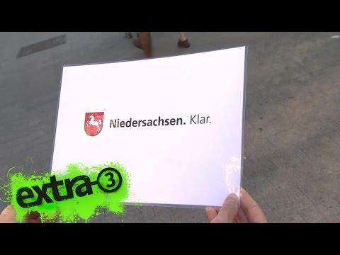 Realer Irrsinn: Neuer Slogan für Niedersachsen | extra 3 | NDR