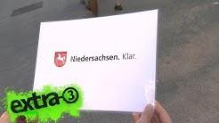 Realer Irrsinn: Neuer Slogan für Niedersachsen   extra 3   NDR