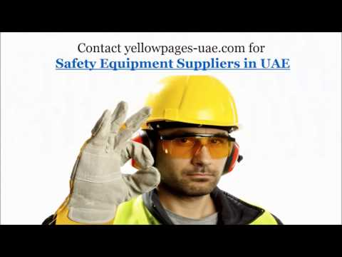 Safety Equipments Suppliers In UAE | Safety Equipment UAE