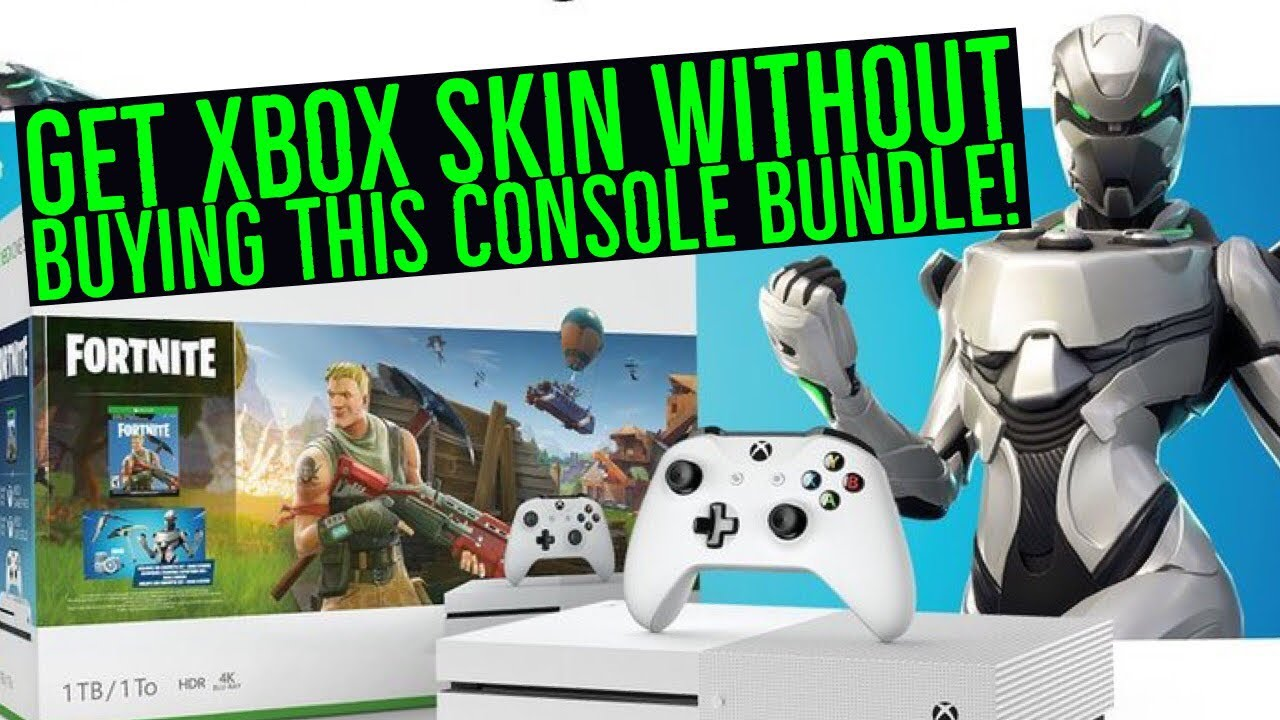 Get Rare Fortnite Xbox One Eon Skin Without Buying New Xbox One S
