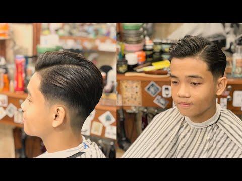 Side Part 7/3 Hot Trend 2019 Phù Hợp Mọi Lứa Tuổi | Step by Step Haircut Guide || Long BarberShop