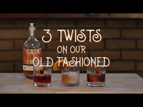 3 Twists on our Old Fashioned - Holiday Edition