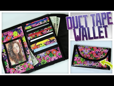 DIY Duct Tape Wallet/Clutch! - Do It, Gurl