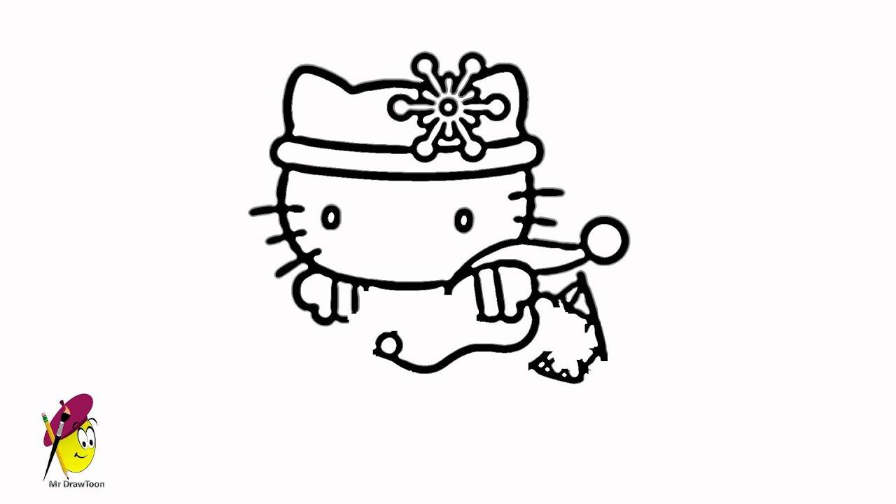 Skating Hello Kitty