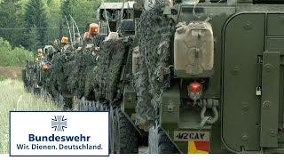 Bundeswehr-Marsch nach Estland - Saber Strike 2016