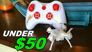 SkyTech TK106 – Nice Quadcopter / Camera Drone Under $50 Review, Flight & Unboxing – TheRcSaylors