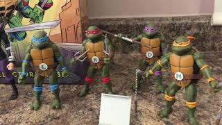 Tortugas ninja collectors case comic con 2017 exclusivo de NECA en español