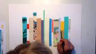 Jane Mount painting MY IDEAL BOOKSHELF