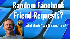 Random Facebook Friend Requests, What Should You Do About Them?