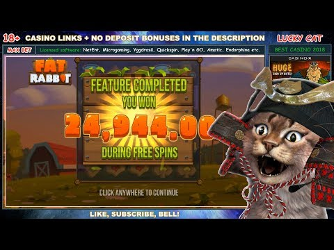 Fat Rabbit (Push Gaming) Slot +24 944€ - MAX BET 100€ CASINO BIG WIN - HIGH ROLLER