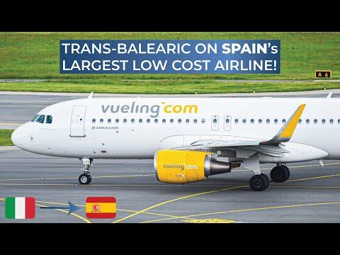 TRIPREPORT | Vueling (ECONOMY) | Olbia - Barcelona | Airbus A320